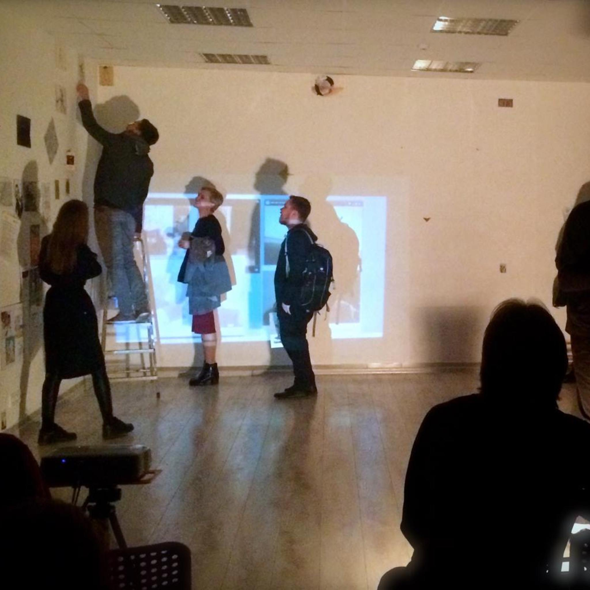 Exhibition-performance of Ilya Samorukov What can I do with the archive? Part 1