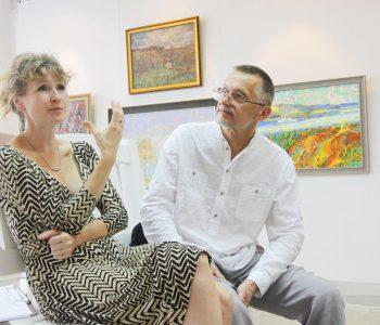 Выставка Полины Горецкой и Михаила Шульпина